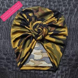 Camo Twist Turban
